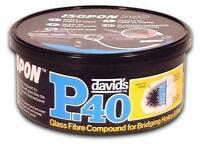 Isopon P40 Fibre Glass Body Filler 250ml