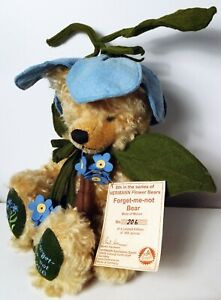 Hermann Forget-me-not Limited Edition Flower Bear