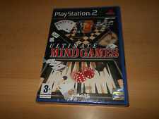 Ultimate Mind Games Sony PlayStation 2 NEW & SEALED pal version