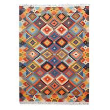 Large Afghan Kilim Rug Carpet 6'x9' Hand Woven Traditional Ghazni Wool Kelim