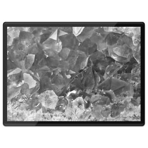 Plastic Placemat A3 BW - Cool Macro Ruby Stones  #39240