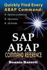SAP ABAP Command Reference by Dennis Barrett