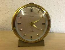 Wecker Uhr EUROPA Vintage 60er Jahre Mechanisch Reiseuhr