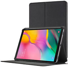 Samsung Galaxy Tab A 10.1 2019 Case Cover Stand | Black + Stylus Protector