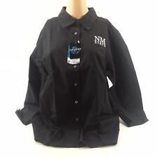 NWT Oxford Women's New Mexico State University Black Button Down Shirt Size XL
