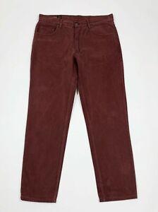 Marlboro classics jeans uomo usato W34 tg 48 gamba dritta bordo boyfriend T5846
