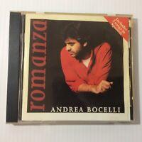 Andrea Bocelli ROMANZA 1996  Insieme srl Music CD