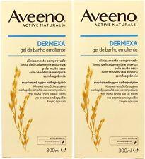 AVEENO - Paquete de 2 - dermexa EMOLIENTE Gel de baño 300ml