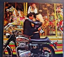 Bsa Birmingham Small Arms Motorcycle blondes gift bike ad 1967 1968 1969 1970