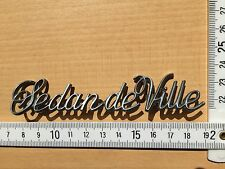 Cadillac 1980 - 1985 Sedan DeVille Schriftzug Ornament Emblem 1981 1982 1983