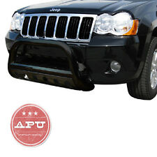 APU 2005-2007 Jeep Grand Cherokee Black  Bull Bar  Bumper Brush grille Guard