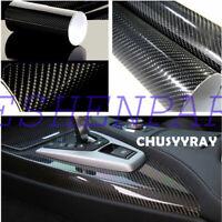 5D Carbon Fiber Car Door Sill Cover Door Edge Protect Sticker Tape Body Decal 7D