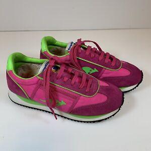 KangaROOS Athletic Running Shoes Sneakers Womens Size 7.5 Pink ZIPPER ROOS