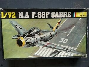 HELLER N.A F-86F SABRE Boite Noire