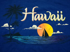 1980s *** Vintage*** Hawaii Island ~ T-Shirt