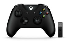 Microsoft 4N7-00002 Xbox Controller + Wireless Adapter Gamepad PC Xbox One Negro