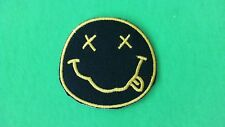 Nirvana Iron On Patch! New USA Seller Grunge Kurt Cobain