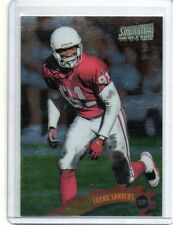 FRANK SANDERS Cardinals/Auburn 1997 Topps Stadium Club One Of A Kind Parallel SP