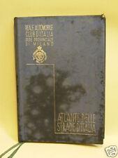 ATLANTE DELLE STRADE D'ITALIA d. REALE AUTOMOBILE C.ITA (Z10)