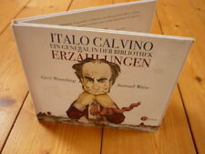 Italo Calvino  Ein General in der Bibliothek Gerd Wameling Samuel Weiss  2CD