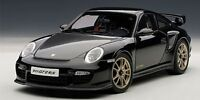 AUTOart 77961 77962 PORSCHE 911 997 GT2 RS model car silver & black 2010 1:18th