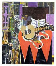 Georges Braque 1942 GRAVURE w/coa CLASSIC CUBISM WORK, unique gift VERY RARE ART