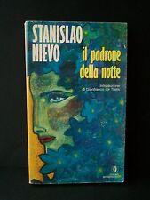 IL PADRONE DELLA NOTTE - S.Nievo [libro: Mondadori, 1988]