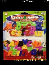 52 PCs Magnetic Magnets Alphabet Letters  Capital Letters & Lower Case Letters