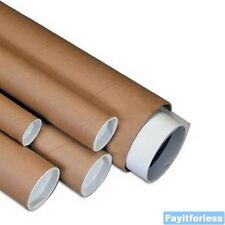 "2"" x 48""  Kraft Shipping Mailer Mailing Storage Postal Tubes 50 Pc"