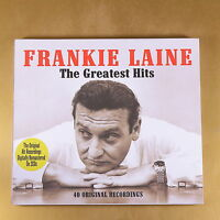 FRANKIE LAINE - THE GREATEST HITS - 40 ORIGINAL REC - 2008- OTTIMO CD [AP-046]