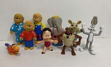 Vtg Vintage Toy Lot Berenstain Bears Warner Bros Taz Bugs Bunny Charlie Horse