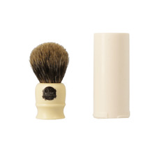 Simpson Progress Vulfix 2190 Pure Badger Shaving Brush With Travel Tube Cream