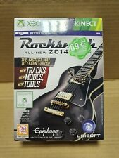 Rocksmith 2014 Xbox 360 - Big box with real tone cable, Kinect compatible, New