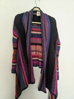 Gorgeous Multicolored Billabong Cardigan Sweater Size M