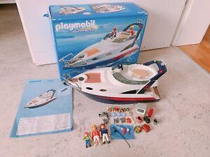 Playmobil Schiff Luxusyacht mit Extras