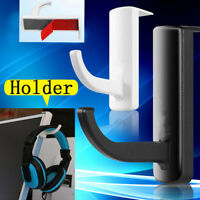Universal Headphone Headset Hanger Wall hook PC Monitor Earphone Stand Rack 1PC
