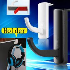 Universal Headphone Headset Hanger Wall hook PC Monitor Earphone Stand Rack 1PC
