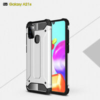For Samsung Galaxy A21s Case Shockproof Hybrid Bumper Slim Hard Back Phone Cover