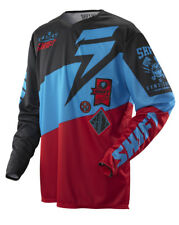 Shift Faction Slate Red / Black Jersey Large Lrg Lg L Motocross ATV MX 2014