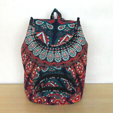 Mandala Unisex Backpack Bag Indian Cotton Hippie Multi Men Women Fashion Bags
