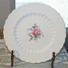 SPODE COPELAND JEWEL SALAD PLATES-BILLINGSLEY ROSE PINK-OLD BACKSTAMP