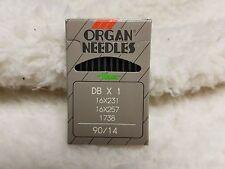 10 ORGAN 16X257PD #18 TITANIUM  SEWING MACHINE NEEDLES 16X231PD DBX1PD 16X95PD