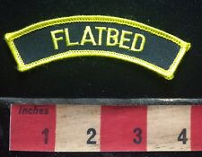 FLATBED Tab Patch - Could Refer To Flat Bed Truck Or Trailer 75Q