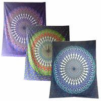 Paisley Mandala Tagesdecke-Wandbehang-Dekotuch - div.Farben 210x240