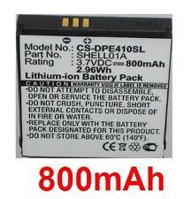 Batteria 800mAh tipo SHELL01A per Doro PhoneEasy 409