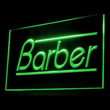 160046 Barber Hair Cut Ponytail Retro Hairstyle Display LED Light Sign