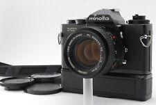 【NEAR MINT】Minolta XD-S Camera + Winder D + MD ROKKOR 50mm f1.4 Lens from Japan