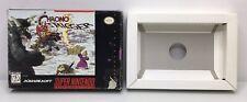 Super Nintendo SNES Chrono Trigger Original Box + Tray *Authentic* *No Game*