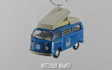 1:64 Volkswagen Samba Bus Camper Kombi VW T2 Christmas Ornament Westfalia RV T1