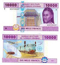 CONGO AFRIQUE CENTRALE AFRICAN STATES Billet 10000 FRANCS 2002 P110T NEUF UNC